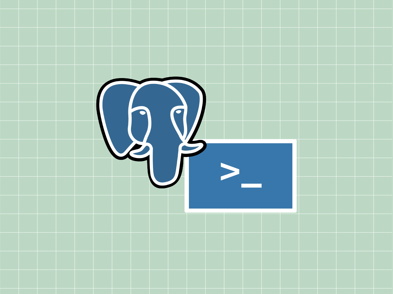Getting Started with PostgreSQL command line thumbnail